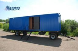 Вагон-дом сушилка для просушивания одежды на 28 человек вагончик сушилка мобильная на шасси