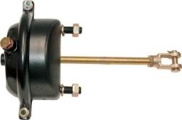 Камера тормоза тип 30 глубокая DAF (ДАФ) Mercedes-Benz (Мерседес-Бенц) Neoplan (Неоплан) оси прицепов SAF, ROR, BPW (барабанный кулачковый тормоз, шток L=186мм, ход 75мм)