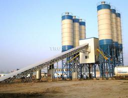 HZS25 - 180 стационарный бетоносмесительный завод