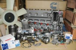 Трубка топливная 6ISBE 4930058 (КОРОТКАЯ) от фильтра к ТНВД - 4930058