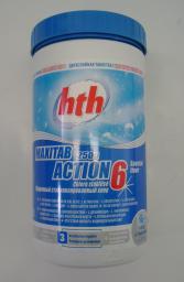 Хлор для бассейна Maxitab Action 6 в 1 , hth
