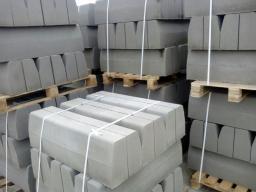 Бордюрный камень дорожный Бр 100-30-15 серый