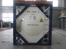 Контейнер-цистерна 25 куб.м. тип Т14 с утеплителем и пароподогревом