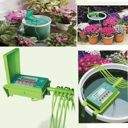 Устройство Green Helper GA - 010 для капельного автополива домашних цветов и растений