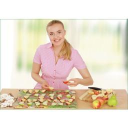 Инфракрасная овощная, грибная и фруктовая электрическая сушилка 75 х 50 см. Скатерть Самобранка дегидратор