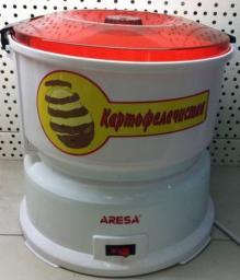 Электрическая бытовая овощечистка картофелечистка Aresa P-01 для дома