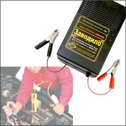 Электронный пусковой зарядный блок Заводило для зарядки аккумулятора автомобиля