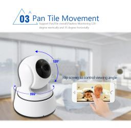 Беспроводная поворотная WiFi видеокамера '' Видеоняня''