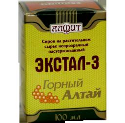 Экстал-3 Горный Алтай (Успокаивающий), 100мл.