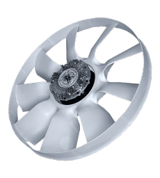 Вентилятор с муфтой электронной ISBe Камаз ( ЕВРО-4) Borg Warner - 20005338
