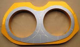 Шиберные плиты и кольца для бетононасосов