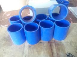 Патрубок радиатора нижний 6ISBe Камаз (силикон) - 54115-1303026-29