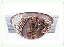 Зеркало обзорное сферическое для помещений купольное D1000