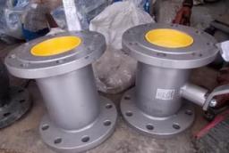Кран шаровый стальной фланцевый Ду400 Ру16