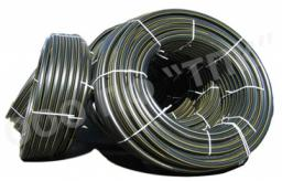Водогазопроводная труба ПЭ 80 (SDR 17,6) атм 3 * д 63 * 3,6, в бухтах