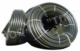 Водогазопроводная труба ПЭ 80 (SDR 17,6) атм.3 * д 75 * 4,3, в бухтах
