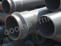 Водопроводная труба ПВХ SDR 17 * атм 16, д 160 * 9,5 * 6,14 м в отрезках