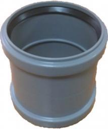 Муфта полиэтиленовая для 125 диаметра трубы