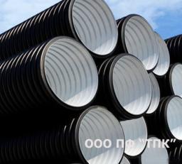 Труба КОРСИС SN8 DN/OD 250 без раструба_6м