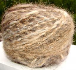 Пряжа пуховая «Лиса меланжик» 130м100грамм из лисьего пуха. Вязание пряжа купить.