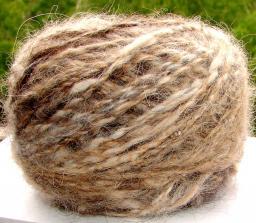 Пряжа пуховая «Лиса меланжик» 130м100грамм из лисьего пуха.Вязание спицами.