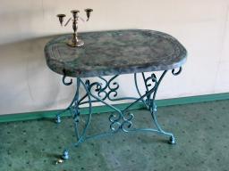 Серый столик