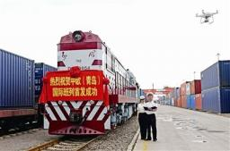 Железнодорожный перевозеи из Циндао、Шанхай в Ховрино
