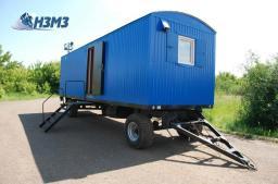 вагон-дом бытовка для проживания 8 человек с поставкой в Екатеринбург