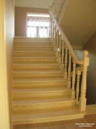 Лестница в классическом стиле. Изготовление. Монтаж.