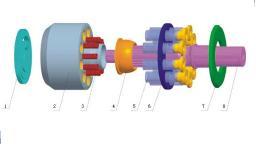 Насос MITSUBISHI MKV33 для бетононасосов