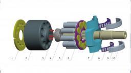 Насос REXROTH A10VSO16-140 для бетононасосов