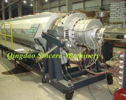 Экструзионная линия по производству водныхгазовых труб из полиэтилена ПНД Ф630мм.