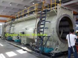 Экструзионная линия по производству водных или газовых труб из ПНД ПЭ Ф1200мм