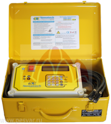 Электромуфтовый аппарат Nowatech ZERN-800 PLUS, для сварки муфт диаметром до 160 мм