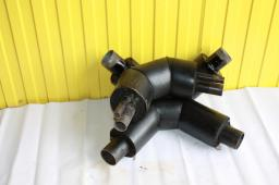 Отвод ППУ (пенополиуретан) ПЭ д=273/400 мм
