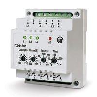 ПЭФ-301-автоматический электронный переключатель фаз