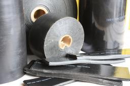 Комплект заделки стыков: Муфта терма, терма-лента 450*2.0, компоненты ППУ, Терма ЛКА 450*100 д=219/355 мм