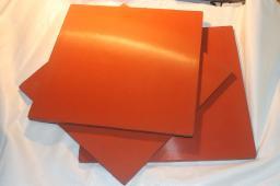 Пластина фторсиликоновая резиновая 490х490х1 мм из резины СП-ФС