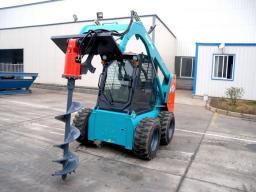 Буровое оборудование (шнек с наплавкой сормайт) для мини погрузчика Bobcat,МКСМ-800,1000, ПУМ,Wecan
