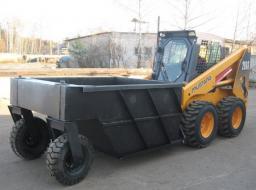 Бункер транспортировочный для мини погрузчика Bobcat, New Holland,Forway, Wecan,МКСМ,ПУМ,Digger, Hyundai и др