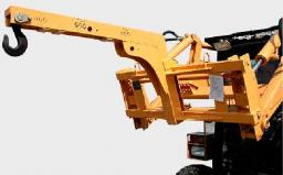 Стрела с крюком  (до 0,8т) для мини погрузчика Bobcat,New Holland,МКСМ,ПУМ,Forway,Wecan,АНТ и др.
