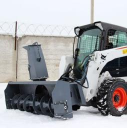 Снегоочиститель шнекороторный Impulse SR1730 (снегомет) для мини погрузчика Bobcat,Mustang,Forway, Wecan,МКСМ