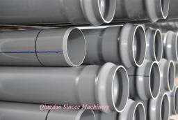Линия для производства пластиковых труб НПВХ ПВХ для воды