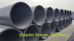 Линия для производства пустотелых канализационных труб НПВХ ПВХ