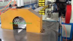 Экструзионная линия для производства Интегральной пористой трубы оболочки из ПВХ.