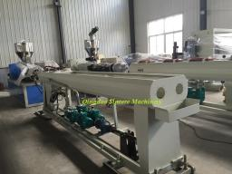 Двухручьевая экструзионая линия для трубы ПВХ PVC CPVC