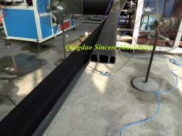 Экструзионная линия по производству стальных труб с покрытием полиэтилена