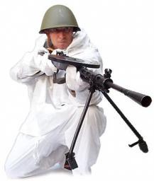 Маскировочный халат белый (СССР)