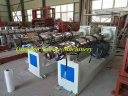 Экструзионная линия по производству армированных ППР труб со стекловолокном для отопления