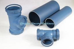 Линия для 3-слойных звукоизоляционных канализационных труб ПП